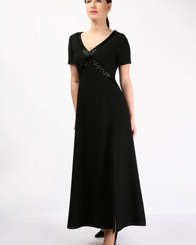 Платье с короткими рукавами - черное Golda