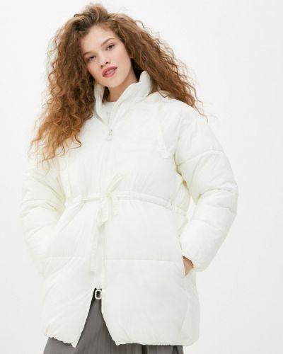 Утепленная белая куртка Sela