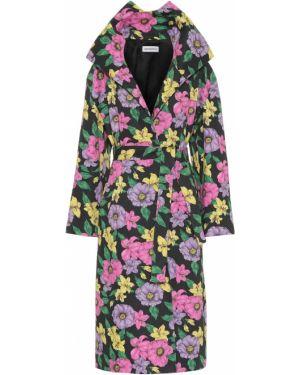 Пальто классическое розовое пальто-тренч Balenciaga