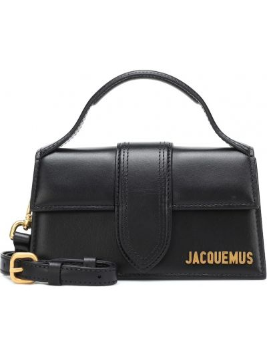 Czarna torebka skórzana Jacquemus