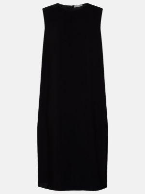 Платье миди - черное The Row