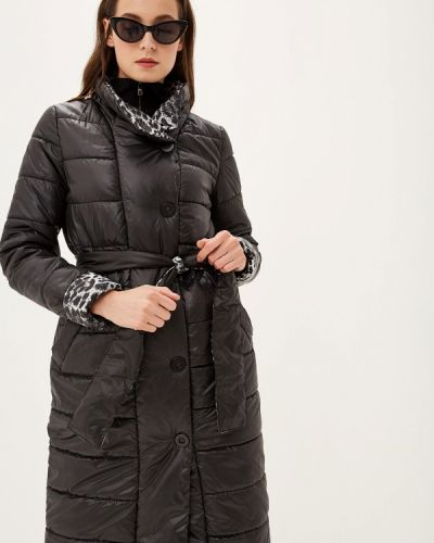 Утепленная куртка демисезонная черная Grand Style