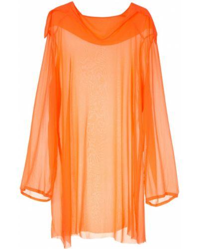 Платье макси длинное - оранжевое Zambesi