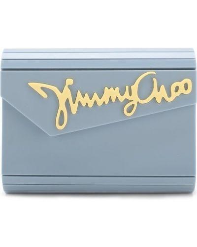 Кожаный сумка вечерняя Jimmy Choo