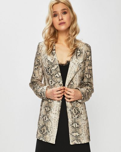 Классический пиджак прямой бежевый Haily's