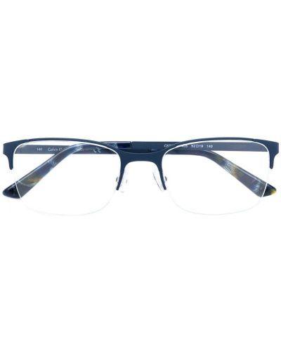 Синие очки Calvin Klein