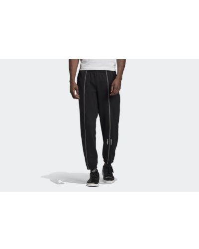 Czarne spodnie bawełniane Adidas