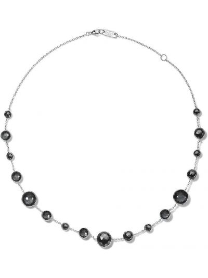 Серебряное ожерелье с камнями Ippolita