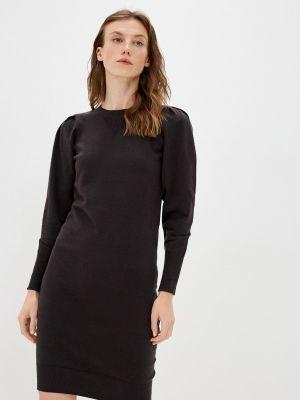Трикотажное платье - черное Mexx
