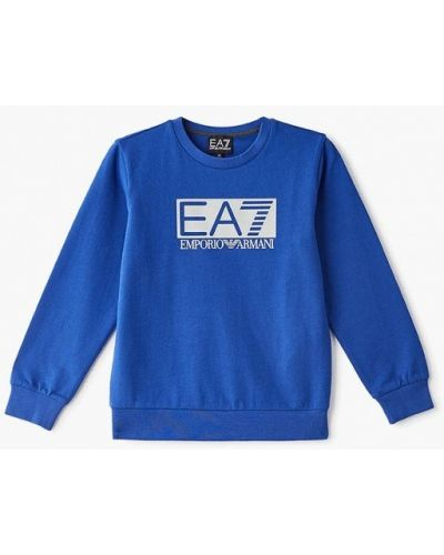 Свитшот синий Ea7