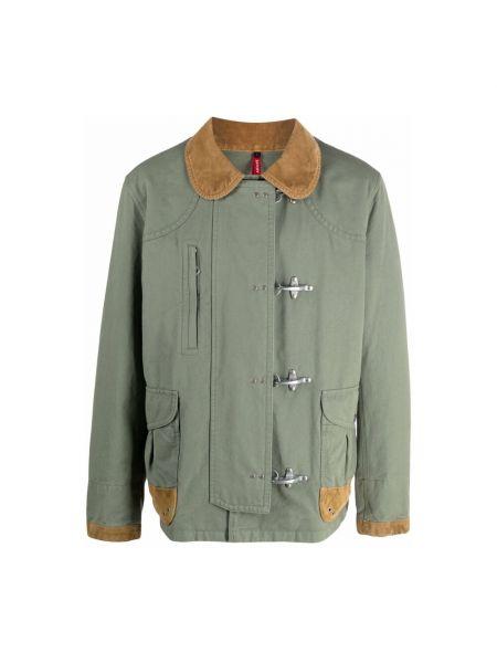 Zielony płaszcz Fay