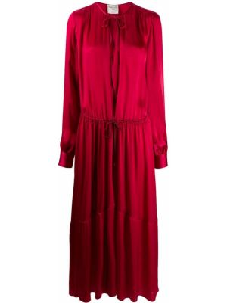 Платье миди на пуговицах с рукавами Forte Forte