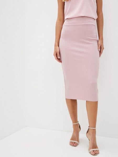 Облегающее платье розовое весеннее Trendyangel