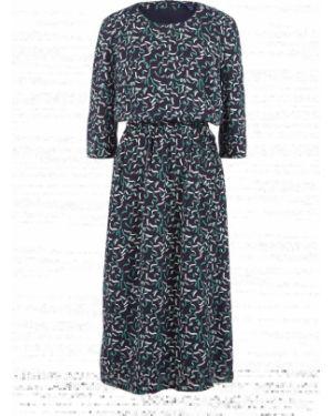Платье из вискозы с рукавами Gant
