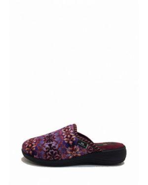 Текстильные тапочки - фиолетовые Spesita