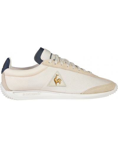 Текстильные кроссовки - бежевые Le Coq Sportif