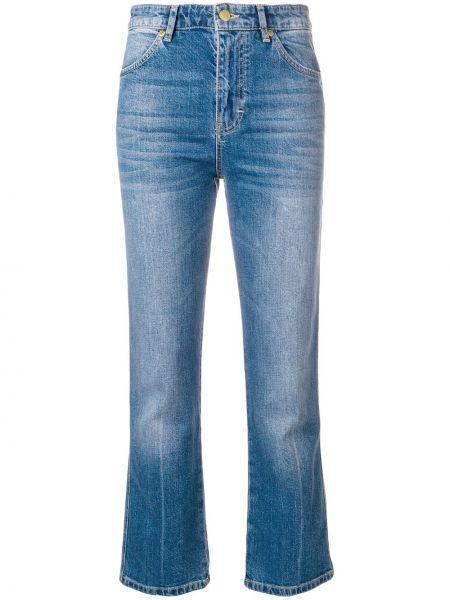 Прямые джинсы синие на пуговицах Victoria, Victoria Beckham