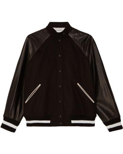 Куртка черная виниловая Valentino