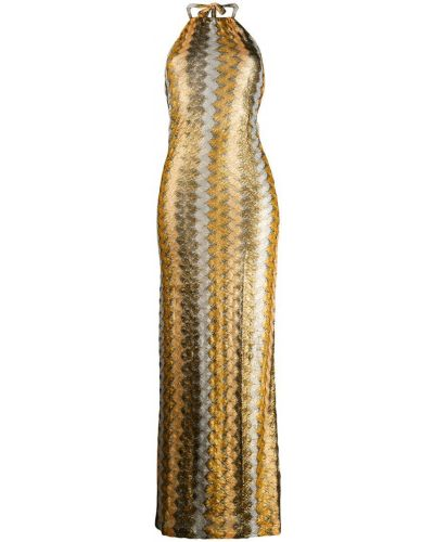 Платье длинное с открытой спиной Mc2 Saint Barth