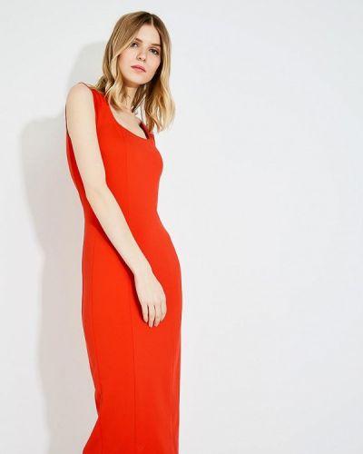 Красное платье весеннее Pinko