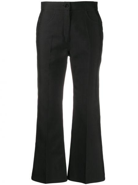 Укороченные брюки расклешенные с карманами Jil Sander