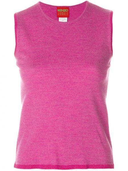 Розовый топ винтажный Kenzo Pre-owned