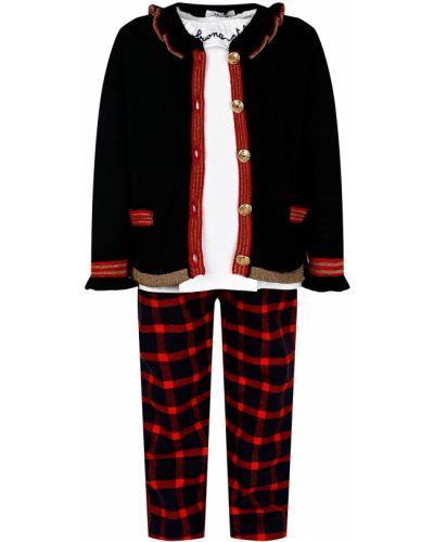 Хлопковая красная блузка Aletta