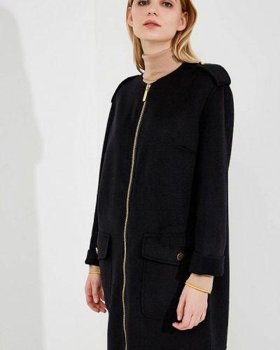 Черное пальто демисезонное Michael Michael Kors