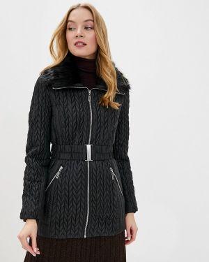 Утепленная куртка демисезонная черная Wallis