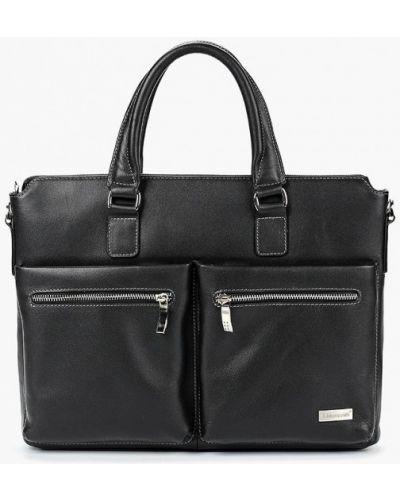 Кожаная сумка черный Franchesco Mariscotti