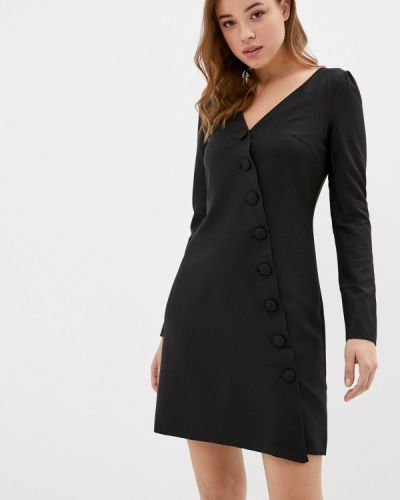 Черное прямое платье Jimmy Sanders
