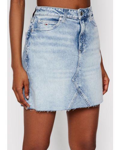 Spódnica jeansowa - niebieska Tommy Jeans