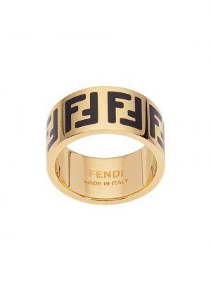 Pierścień ze złota bezpłatne cięcie Fendi