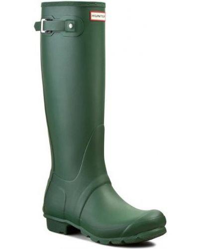 Kalosze - zielone Hunter