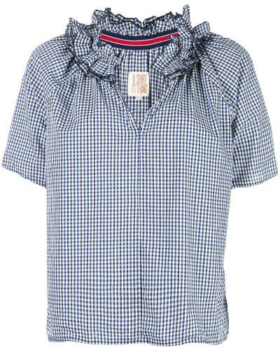 Блузка с коротким рукавом с оборками A Shirt Thing
