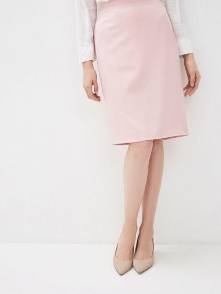 Платье прямое розовое Baon