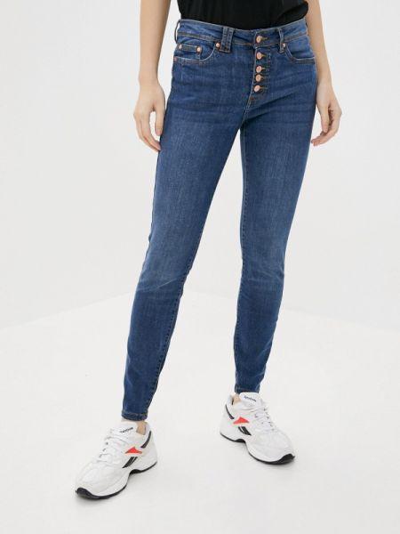 Синие джинсы-скинни с пайетками Rock Angel