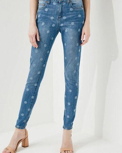 Голубые джинсы-скинни Michael Michael Kors