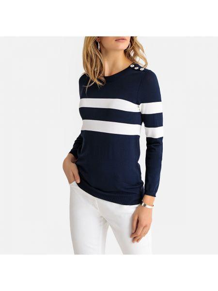 Пуловер на пуговицах из вискозы Anne Weyburn