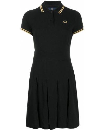 Платье с вышивкой с воротником Fred Perry