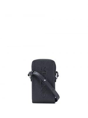 Skórzany torba z logo Kenzo