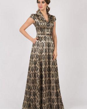 Вечернее платье осеннее оливковый Olivegrey