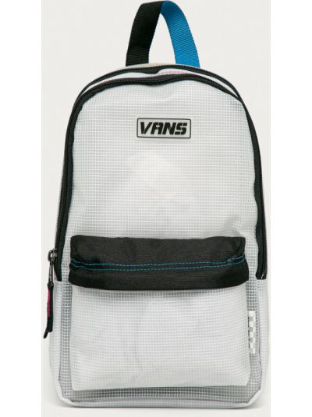 Белый рюкзак с карманами с декоративной отделкой Vans