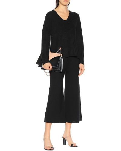 Klasyczne spodnie - czarne 81hours