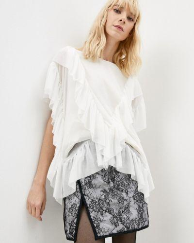 Белая зимняя блузка Twinset Milano