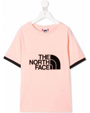 Розовая футболка The North Face Kids