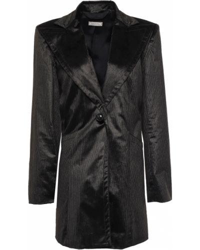 Черный пиджак с подкладкой вельветовый Nina Ricci