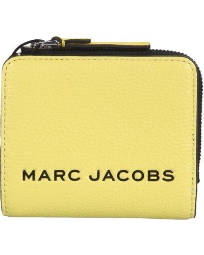 Portfel skórzany - żółty Marc Jacobs