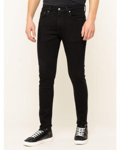 Mom jeans - czarne Levi's