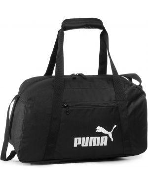 Czarna torba sportowa z niskim stanem Puma